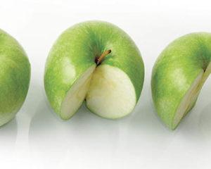 Части яблока
