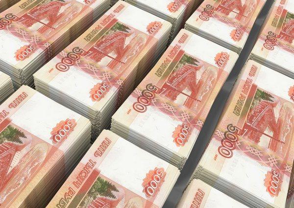 Купюры по 5 тыс. рублей