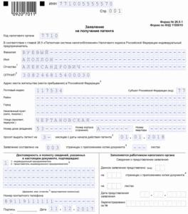 Заявление на ПСН, ремонт ПК, стр. 001