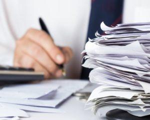 Скан документы в учёте